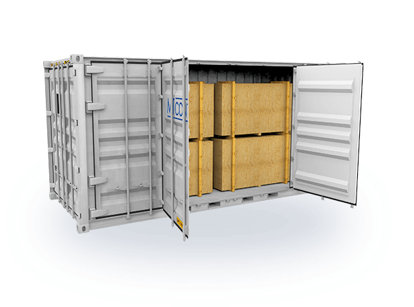 Open-Side-Door-Container