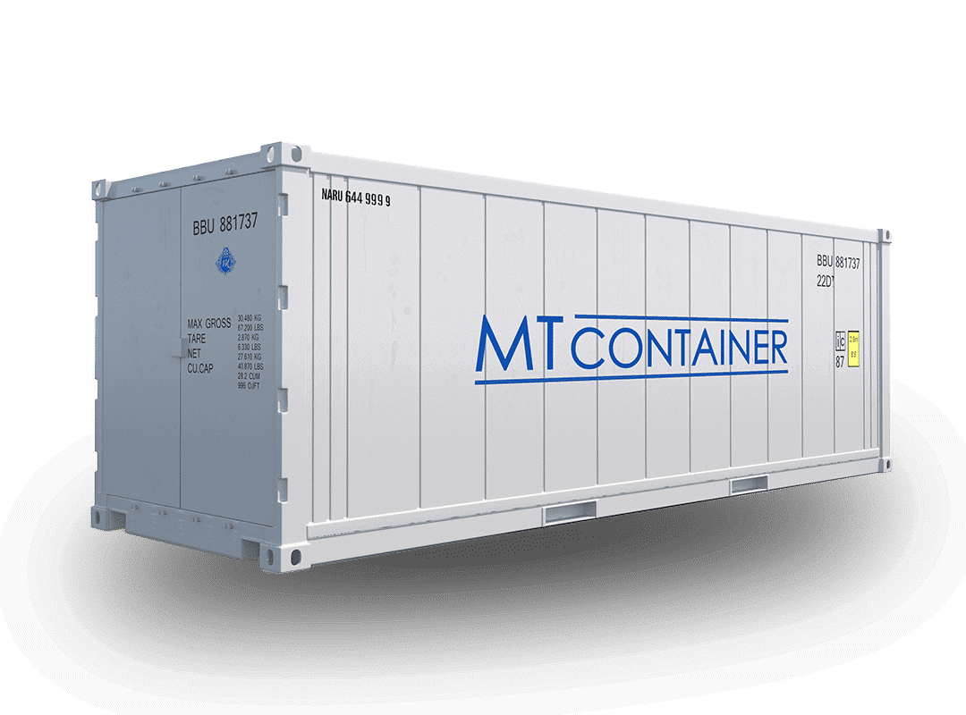 Der Isoliercontainer Containertyp