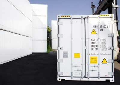 Reefer Container Carrier Transicold Door