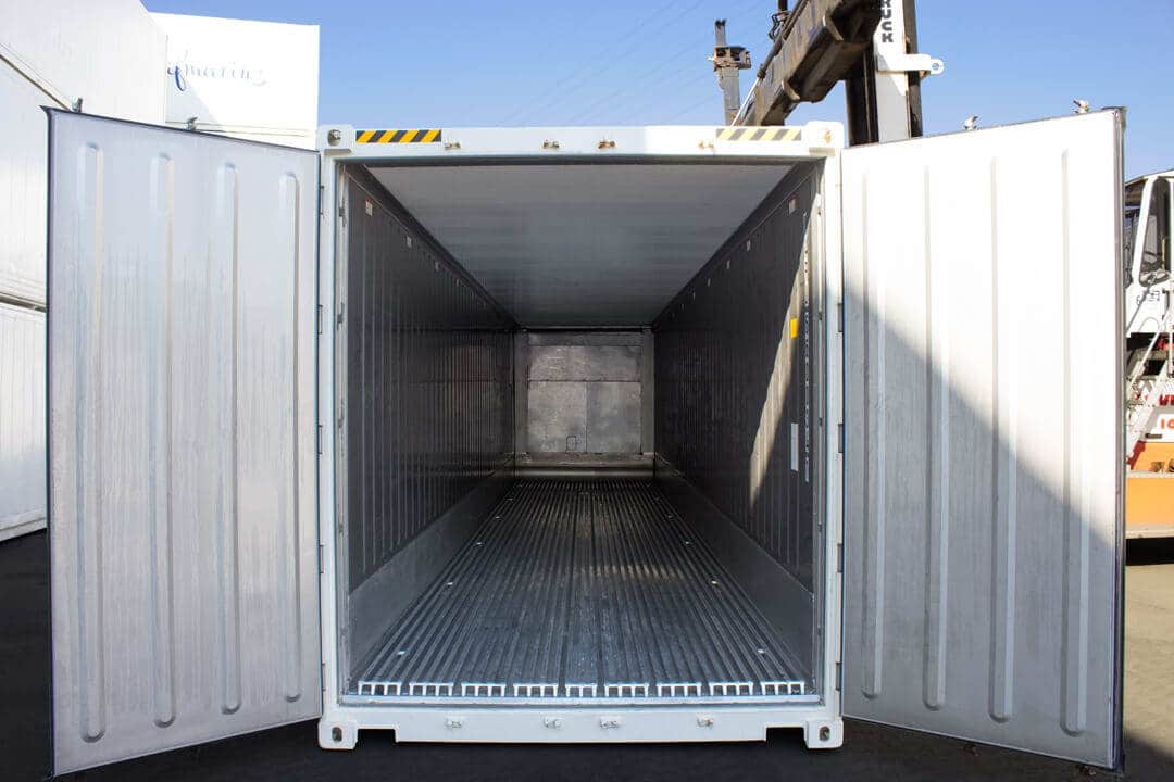 Reefer Container - all important Information about Refrigerated