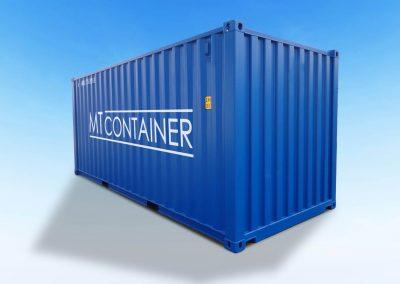 20-ft-Fuß-Seecontainer-DV-Stahlcontainer-neu-gebraucht-blau