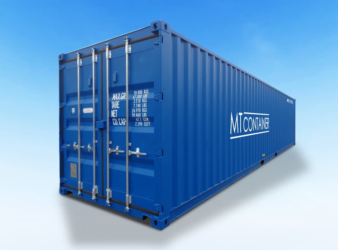 Seecontainer 40 Fuß
