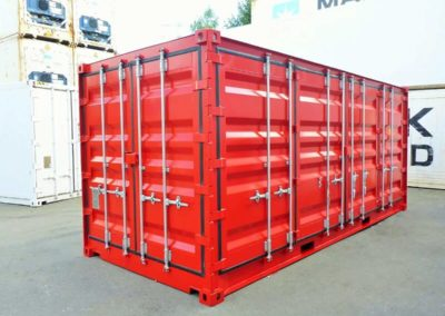 20 Fuß Open Side Door Container 2017