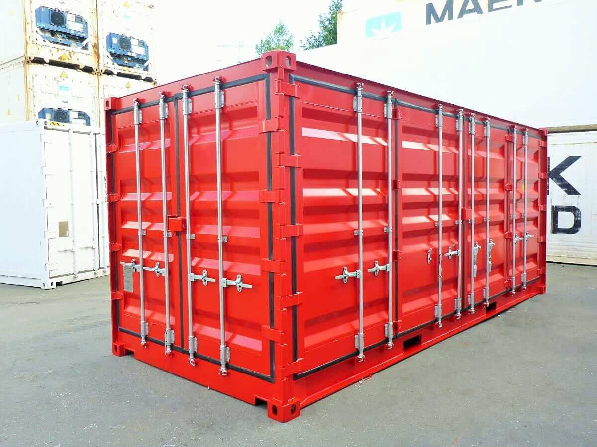 20 fu open side door container 2017 mt container gmbh hamburg. Black Bedroom Furniture Sets. Home Design Ideas