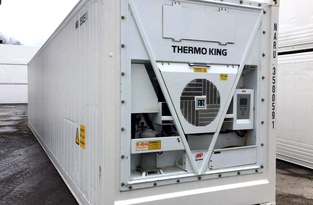40 Fuß Kühlcontainer Thermo King MAGNUM Plus