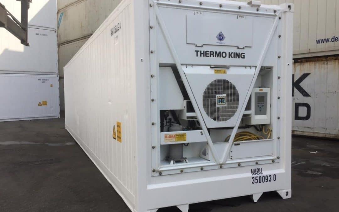 40 Fuß Kühlcontainer TK MAGNUM PLUS 2010