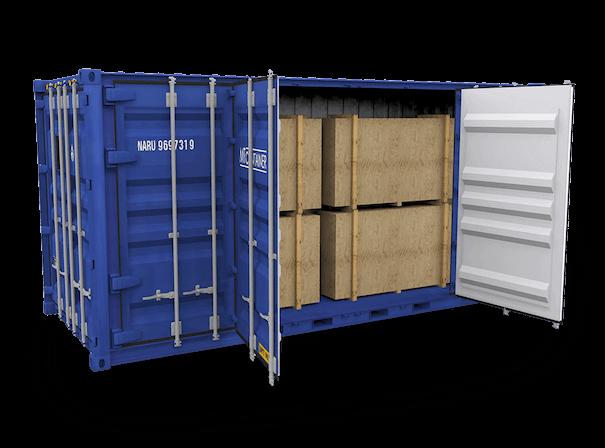 Open Side Door Container kaufen oder mieten | MT Container GmbH