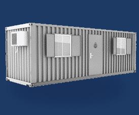 Der Wohncontainer Containertyp