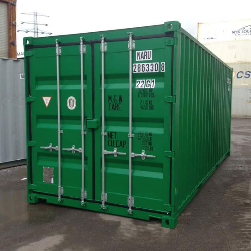 20 Fuss Seecontainer Lagercontainer