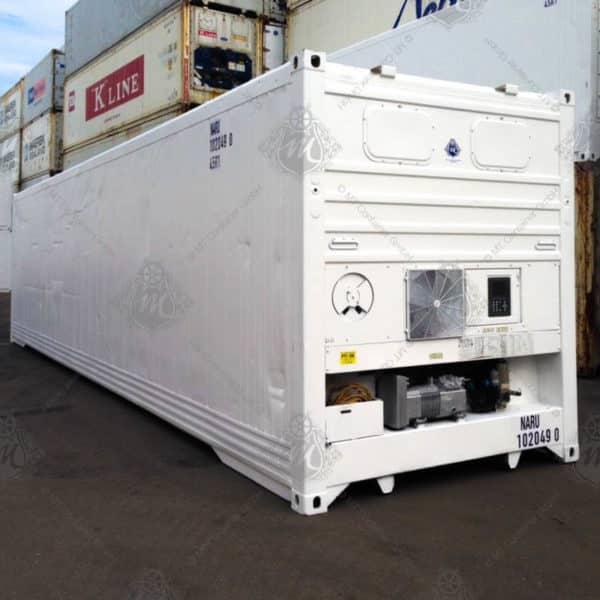 Weißer Kühlcontainer NARU 102049-0.